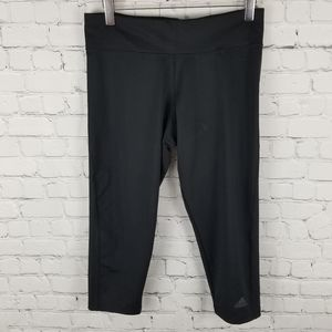 ADIDAS | cropped workout athletic leggings